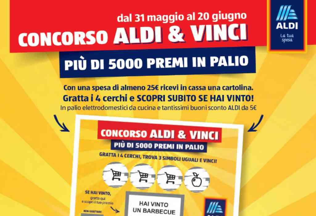 Concorso Aldi & Vinci 2021