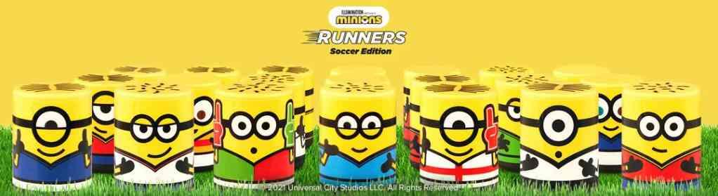I 21 Minions Runners della raccolta Carrefour