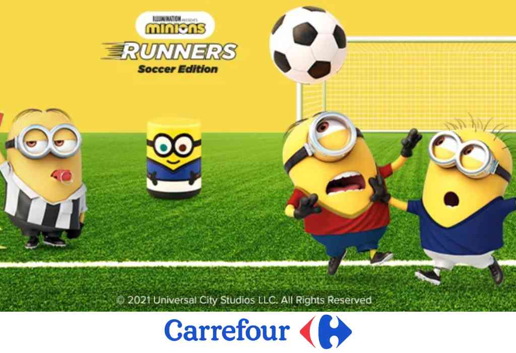 Concorso Carrefour Minions Runners 2021