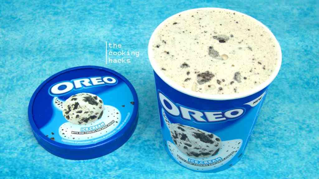 La prova assaggio del gelato Oreo Pot