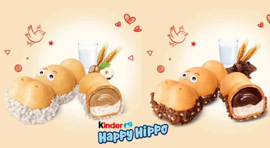 Kinder Happy Hippo nocciola e cacao