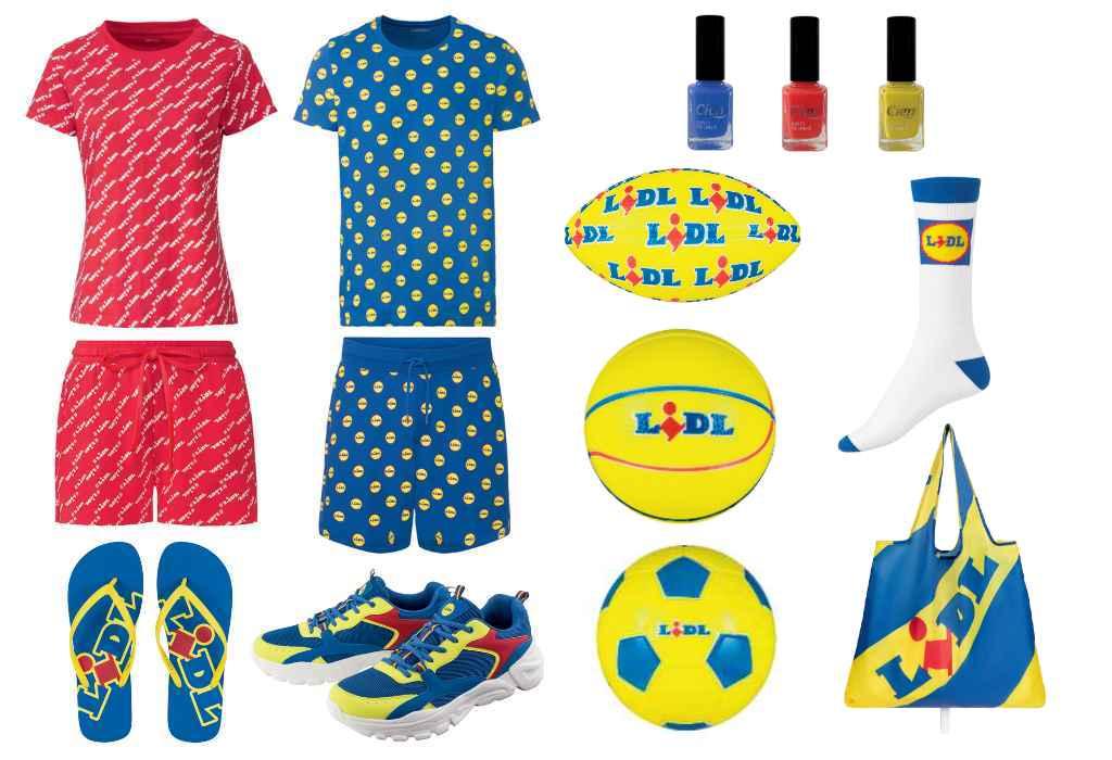 I prodotti della Lidl Fan Collection