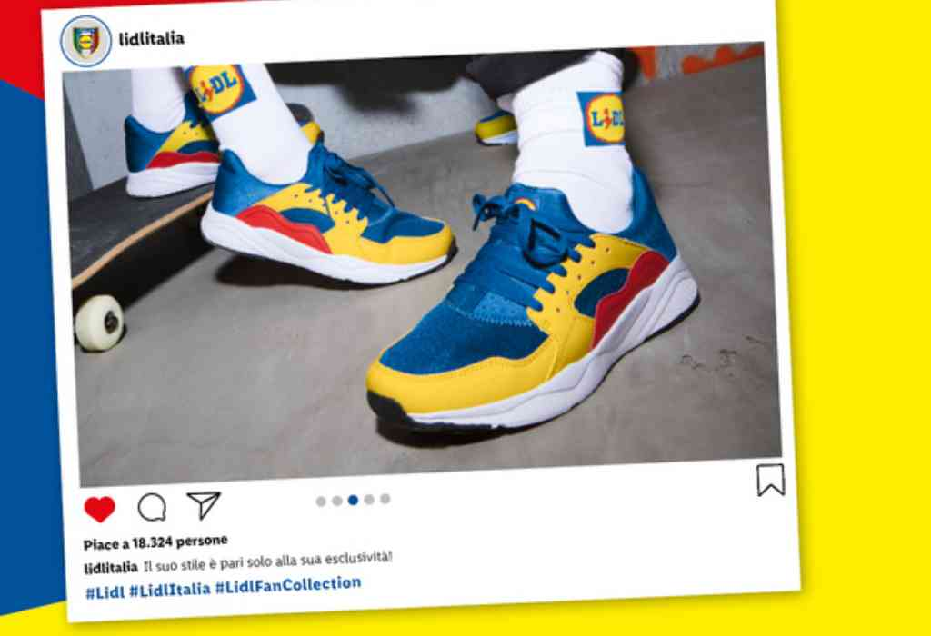 Scarpe Lidl Fan collection