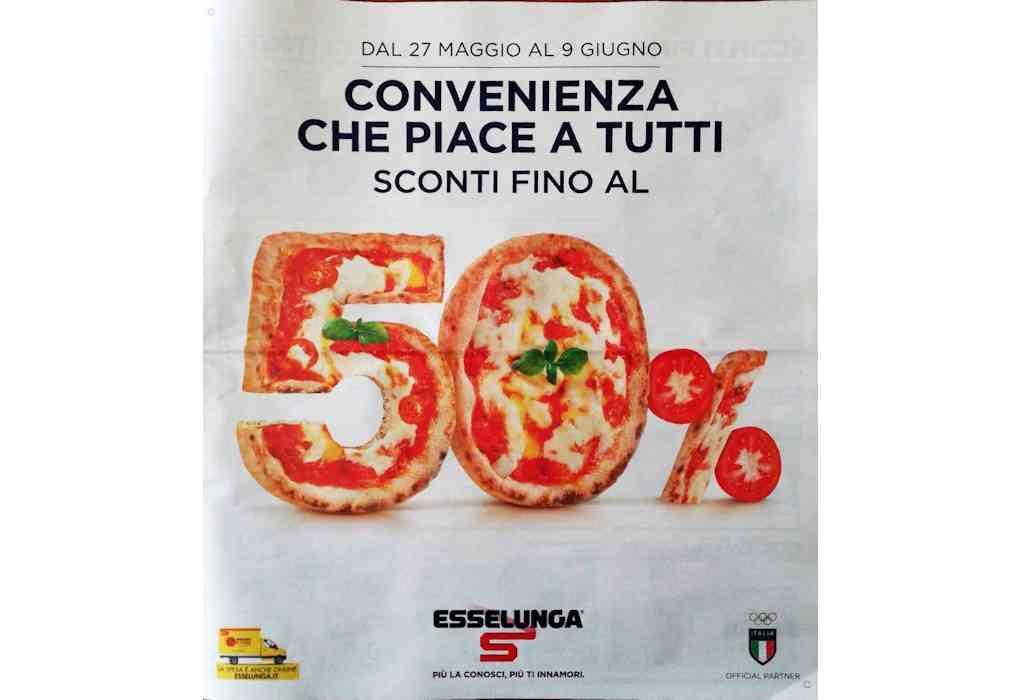 Volantino Esselunga dal 27 maggio al 9 giugno 2021: speciale Pizza!