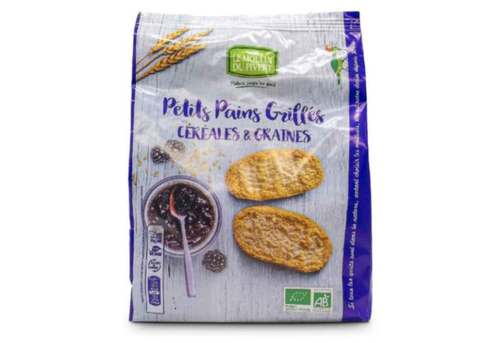 Richiamati i crostini Pain Grillè ai cereali e semi bio per ossido di etilene nel sesamo