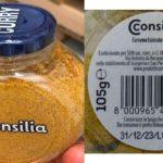 Richiamato il Curry Consilia Minipet per errata etichettatura e presenza di allergeni