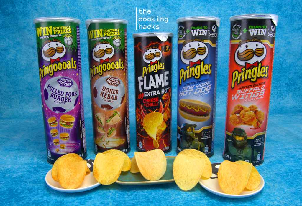 La nostra prova assaggio dei nuovi gusti delle Pringles