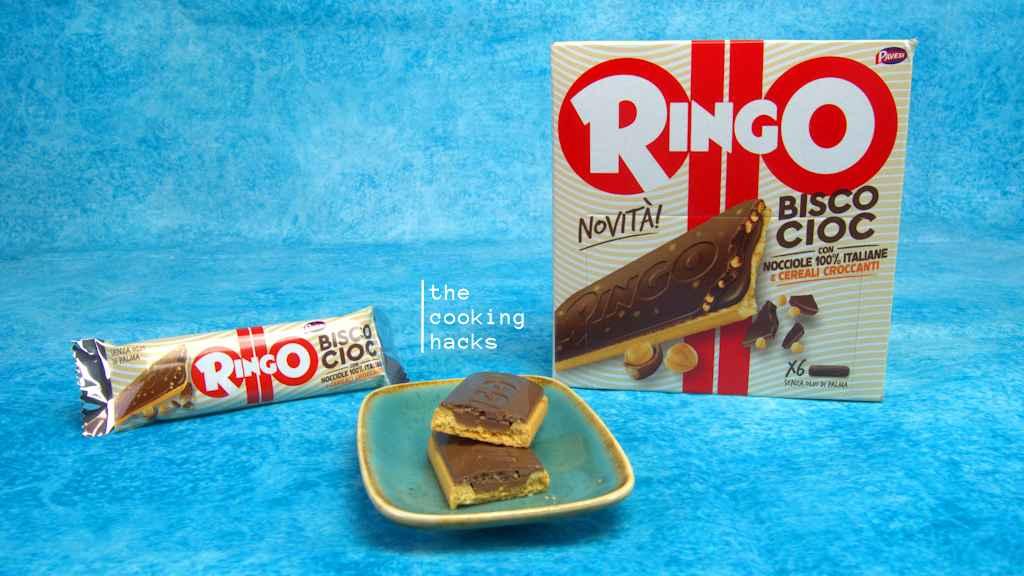La prova assaggio dei Ringo Biscocioc alla nocciola