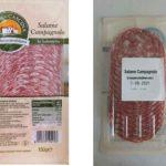 Richiamato il Salame Campagnolo di Penny Market per sospetta Salmonella