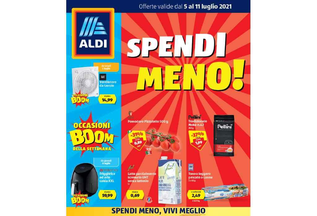 Volantino Aldi dal 5 al 11 luglio 2021: offerte Spendi Meno