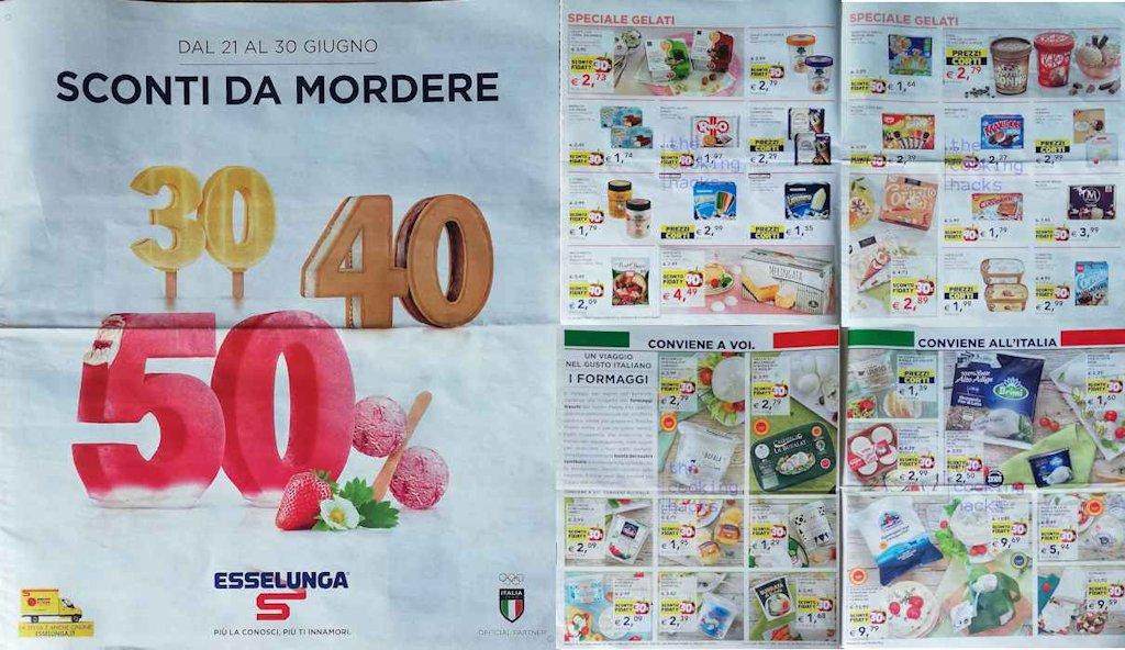 Volantino Esselunga dal 21 al 30 giugno 2021: le offerte