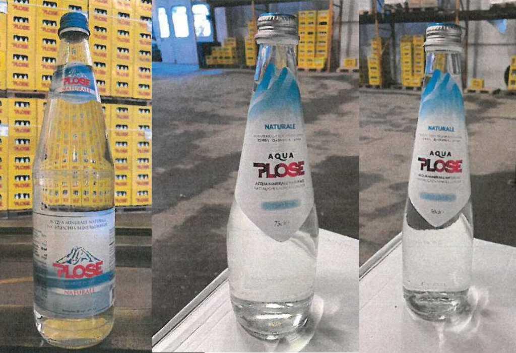 Richiamati alcuni lotti di Acqua minerale naturale Plose per merce non conforme
