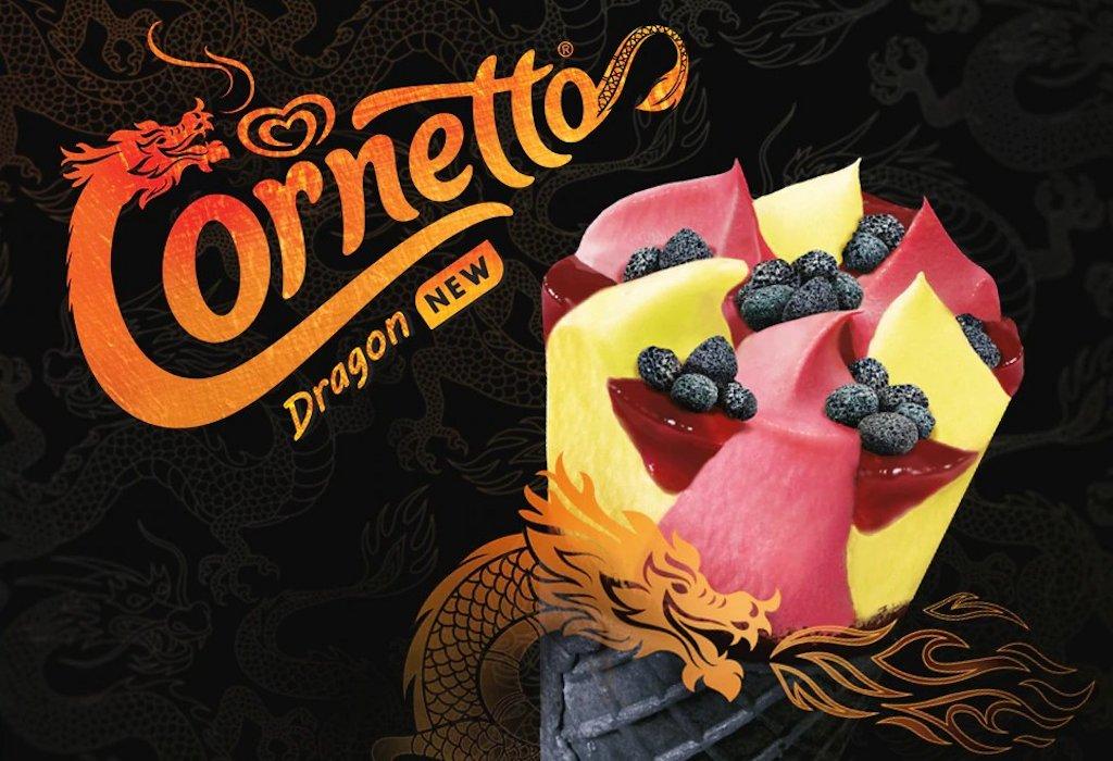 Cornetto Dragon Algida, nuova limited edition per l'estate 2021: dove trovarlo, prezzo, calorie e ingredienti