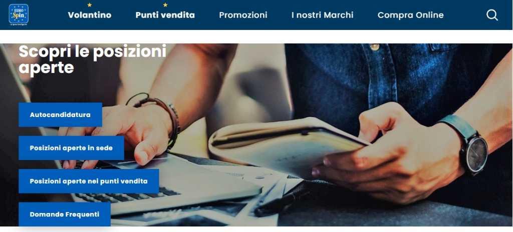 Eurospin lavora con noi: autocandidatura, posizioni aperte in sede o in punto vendita e come candidarsi