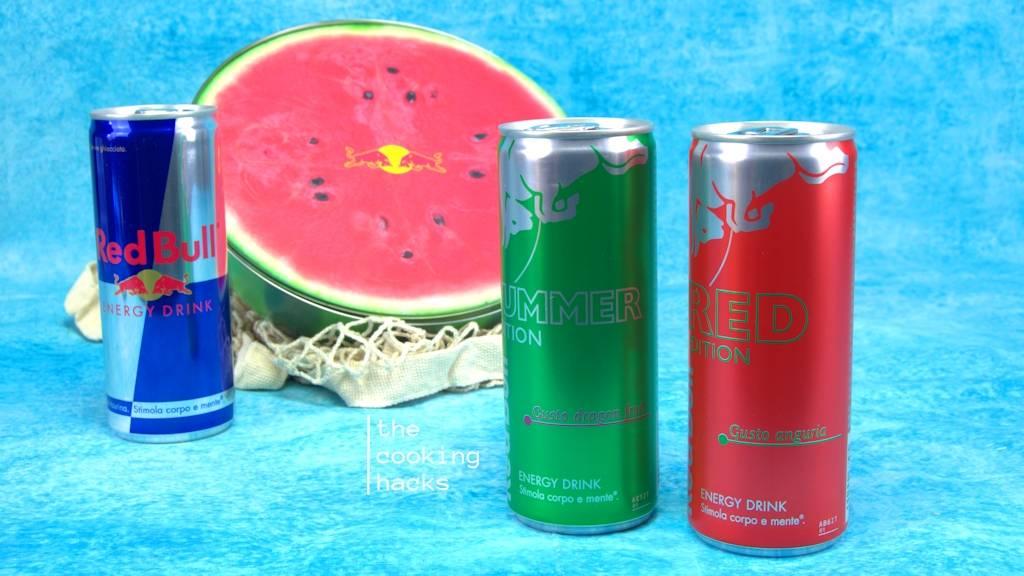 recensione di Red Bull Anguria e Red Bull Dragon Fruit