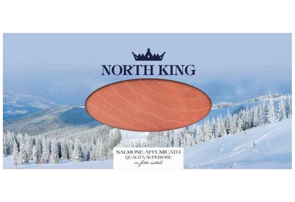Richiamato il salmone Salmone norvegese affumicato North King per ritrovamento di corpo estraneo