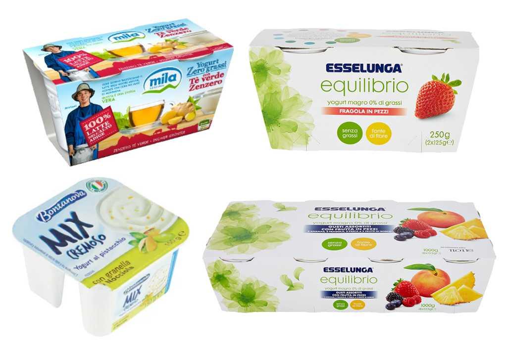 Richiamato yogurt a marchio Esselunga, Mila e Bontanova per ossido di etilene nella farina di semi di carrube