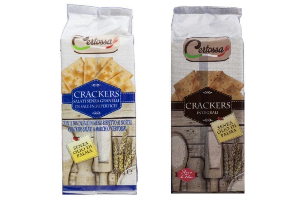 Richiamati crackers Certossa Lidl