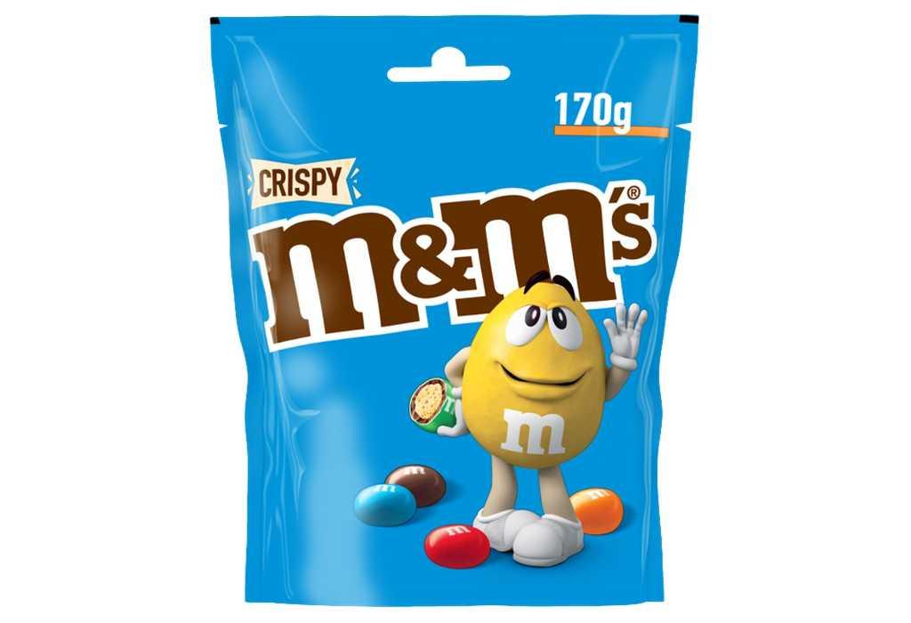 Mars richiama due lotti di M&M'S Crispy per OGM in un ingrediente