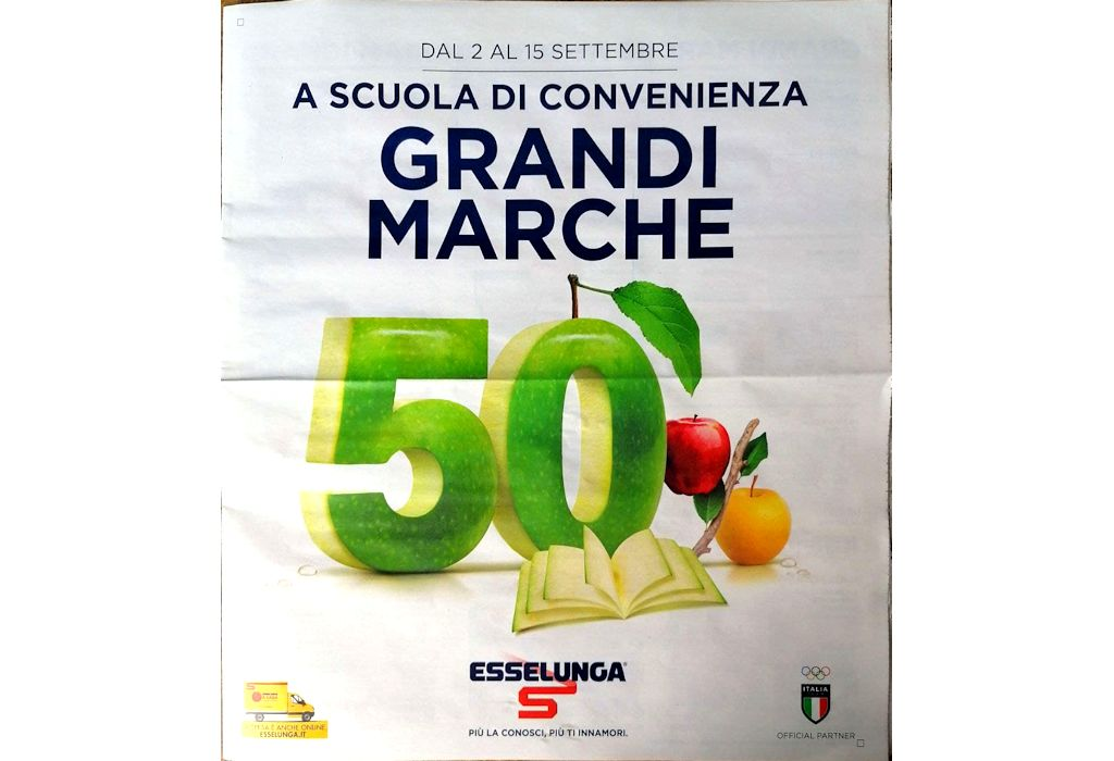 Volantino Esselunga dal 2 al 15 settembre 2021: a scuola di convenienza Grandi Marche