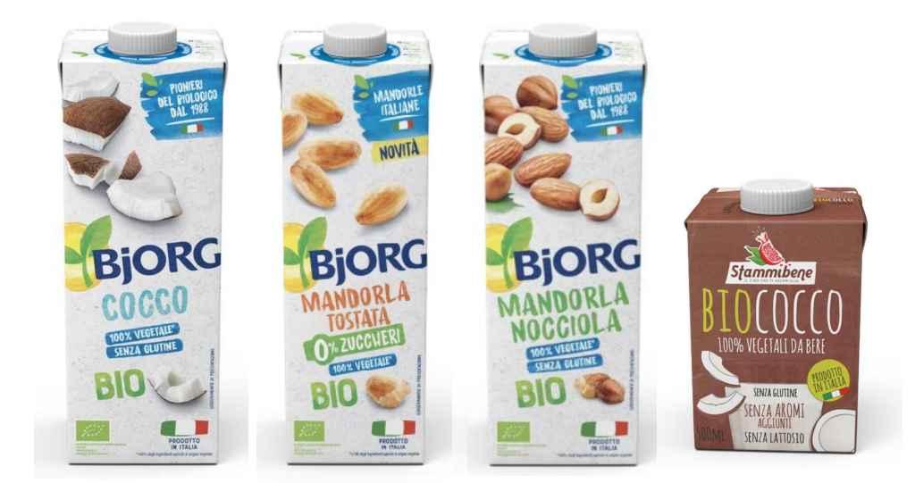 Ritirati nuovi lotti di bevande Bjorg e Biococco Stammibene