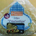 Richiamate Crepes L'Authentique Paysan Breton per presenza di allergeni