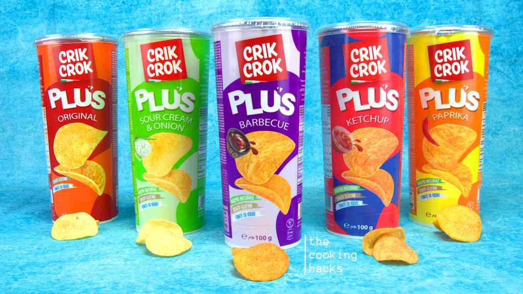 Crik Crok Plus, i nuovi gusti Barbecue, Ketchup, Sour Cream e Onion