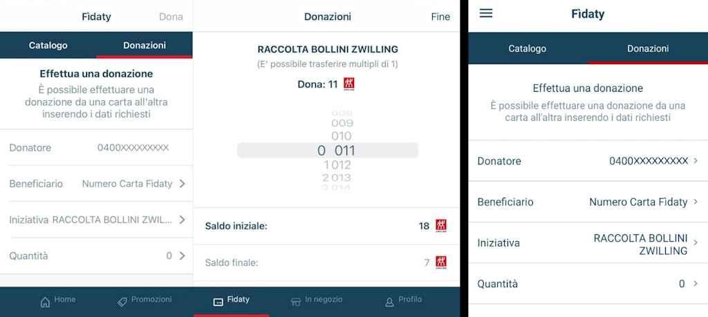 Come donare i bollini online Esselunga con le app