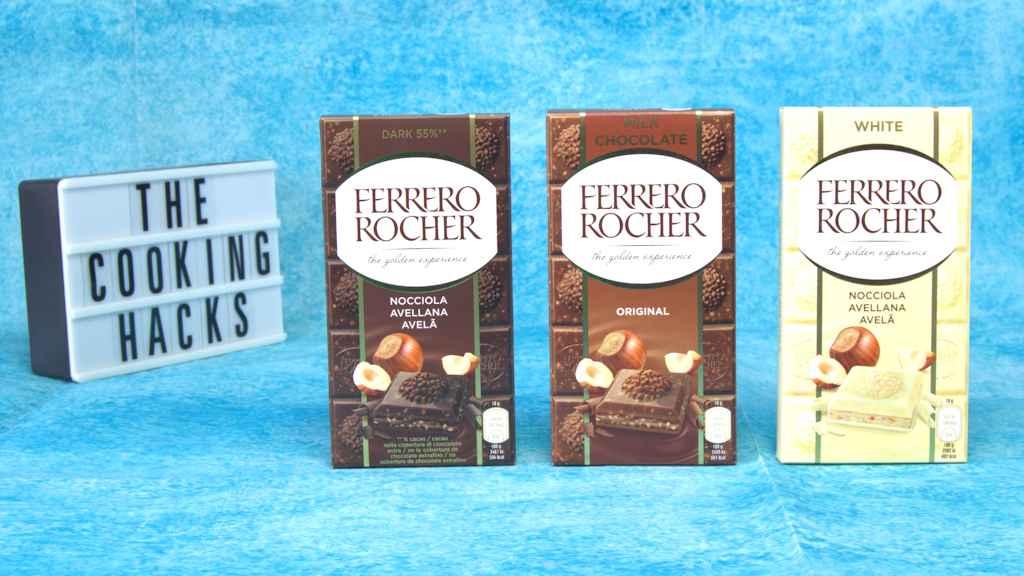 Ferrero Rocher, in arrivo la tavoletta di cioccolato: gusti, ingredienti, prezzo e dove trovarle