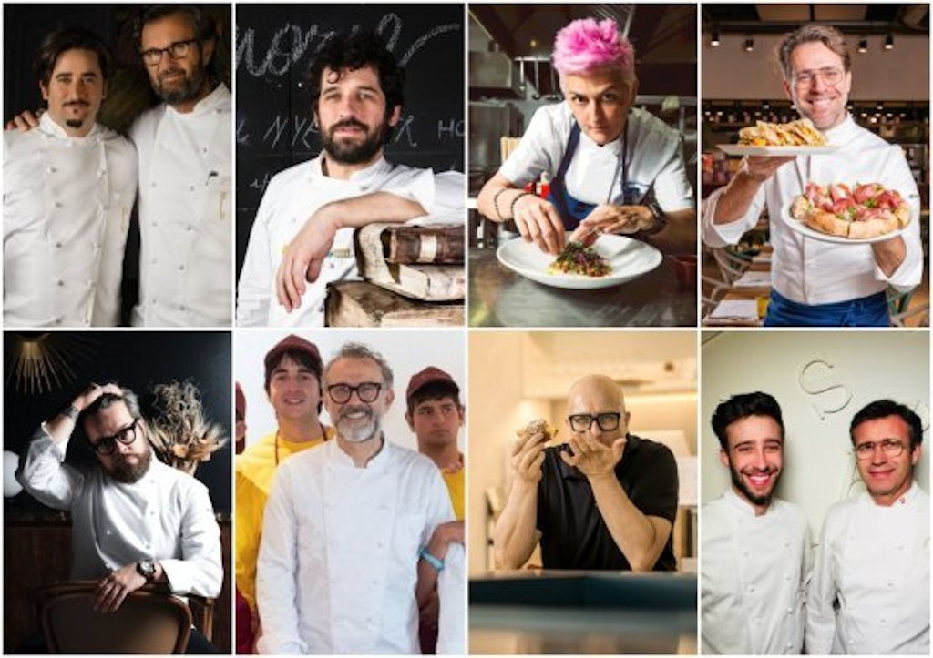 Gli chef di Identità Golose Food Court