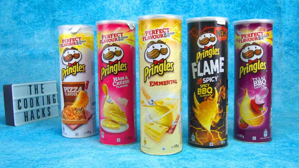 Pringles, i nuovi gusti Emmental, Texas BBQ Sauce, Ham & Cheese, Pizza, e Flame Spicy BBQ: dove trovarli, prezzo, e prova assaggio