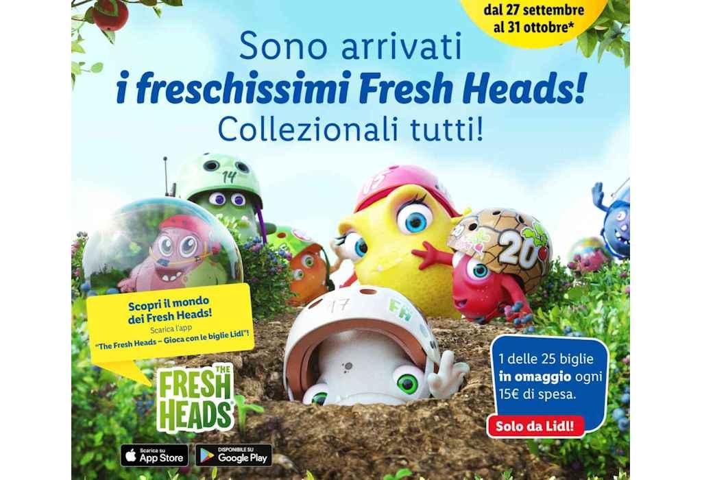 The Fresh Heads Lidl: in arrivo la nuova raccolta Lidl di biglie dedicata alle piante