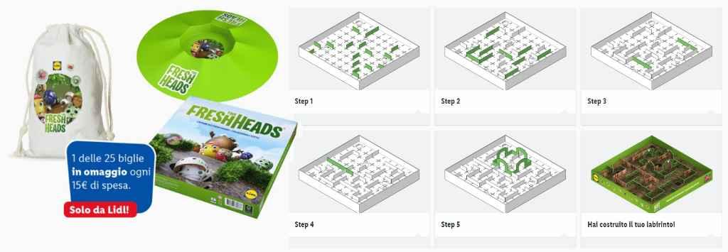 Modo d'uso dei giochi The Fresh Heads