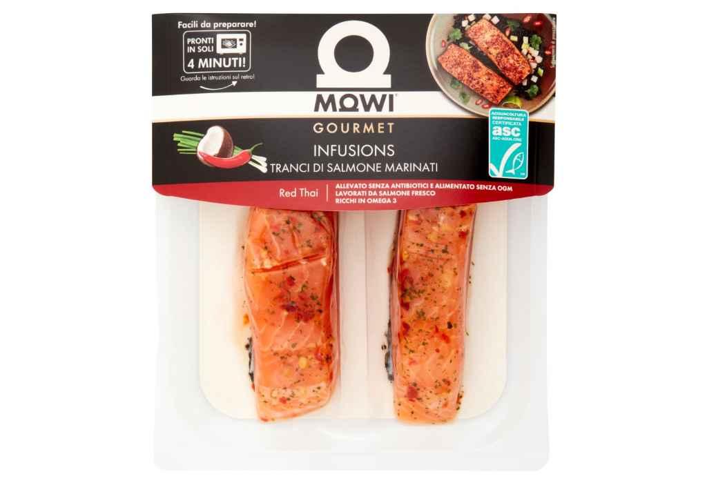 Richiamati tranci di salmone marinati per scadenza errata