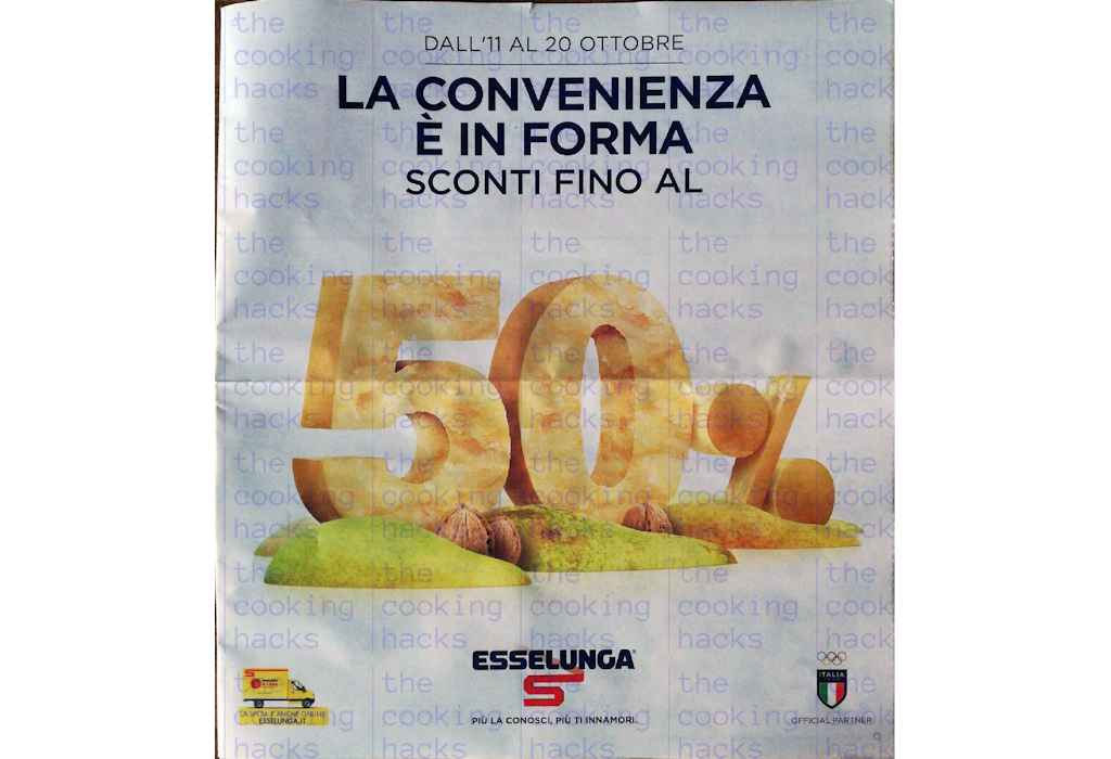 Volantino Esselunga dal 11 al 20 ottobre 2021: Convenienza in forma, sconti fino al 50%